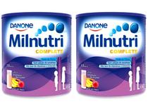 Kit Suplemento Alimentar Infantil Milnutri - Vitamina de Frutas Complete 800g 2 Unidades