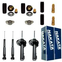 Kit suspensão completo nakata vw  fox 2004/2015 - com barra - Kit - 4 amortecedores + kits (nakata)