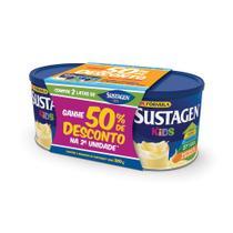 Kit Sustagen Kids baunilha Lata  380g -