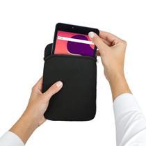 "Kit Tablet DL Creative Tab 7"" QuadCore Wi-Fi 1GB/8GB Branco Com Capa Protetora Tecido Lavável preta -"