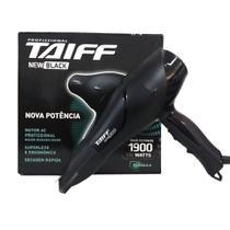 Kit taiff secador profissional new black 1700w - 127v + difusor curves -