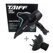 Kit taiff secador profissional new smart 1700w - 220v + difusor curves -