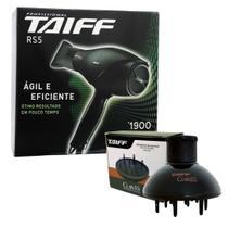 Kit taiff secador profissional rs-5 1900w - 127v+ difusor curves -