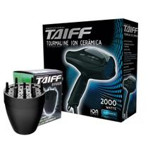 Kit taiff secador profissional tourmaline 2000w - 127v + difusor novo -