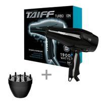 Kit taiff secador profissional turbo ion 1900w - 220v + difusor novo -
