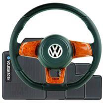 Kit Tapete Borracha Volante Esportivo Mk7 GOL PARATI SAVEIRO G2 G3 G4 c/ Cubo Incluso - Volkswagen