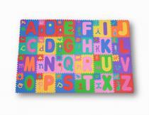Kit Tapete Quarto Alfabeto 24 Peças Em EVA Educativo Criança - Haiti