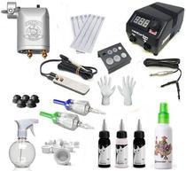 Kit Tatuagem Completa com Máquina Rotativa Square - Supplytattoo