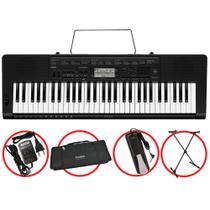 Kit Teclado Casio CTK3500 Musical 5/8 Completo Com Pedal -
