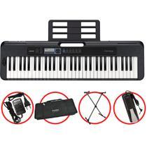 Kit Teclado Casio Tone CTS300 Musical 5/8 Completo Com Pedal -