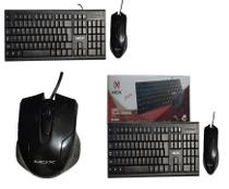 Kit Teclado e Mouse com Fio USB MO-KM440 -Mox -
