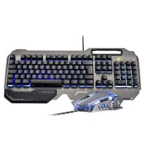 Kit Teclado e Mouse Gamer Multilaser Warrior Ragnar Keon TC223