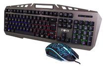 Kit Teclado e Mouse Gamer USB Iluminado Inova* - Nota 10