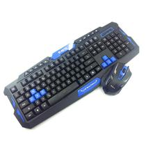 Kit Teclado e Mouse Gamer Wireless Hk8100 1000-1600 Dpi - Wincabos