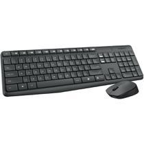 Kit Teclado e Mouse Logitech Wireless MK235 -