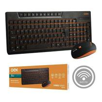 Kit Teclado e Mouse sem Fio Sunset OEX TM402 -