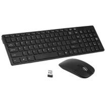 Kit Teclado E Mouse Sem Fio Wifi wireless USB 1600dpi 2.4ghz Smart Pc - Jm