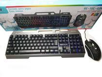 Kit Teclado Gamer Mouse Led Re Tec 539 - Retec