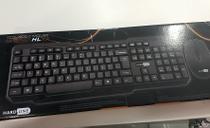 Kit Teclado + Mouse sem fio HL301 - Hardline