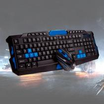 Kit Teclado + Mouse Wireless Sem Fio Gamer BM-T07 USB para Jogos PC - B-Max -