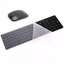 Kit Teclado + Mouse Wireless ULTRA SLIM EXBOM BK-S1000