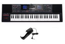 Kit Teclado Roland E-A7 com Pedal Sustain -
