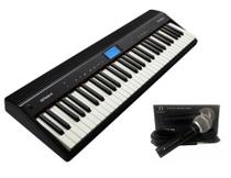 Kit Teclado Roland Go Piano GO61P + Microfone Regent SM58 -