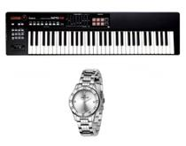 Kit Teclado Roland XPS10 e Relogio Dk Fashion Dk11155-6 -
