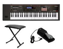Kit Teclado Roland Xps30 com Banqueta e Pedal Sustain -