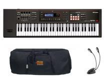 Kit Teclado Roland Xps30 com Capa e Luminária -