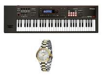 Kit Teclado Roland Xps30 com Relogio Dk Feminino Dk11184-4 -