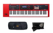 Kit Teclado Sintetizador Roland XPS30 R Com Capa e Microfone -