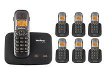 Kit Telefone 2 Linhas Ts 5150 + 6 Ramais Ts 5121 Intelbras -