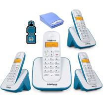 Kit Telefone sem fio TS 3110 Com 3 Ramal e Interface celular - Intelbras