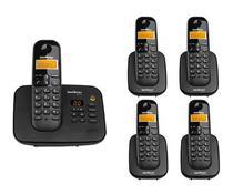 Kit Telefone Sem Fio Ts 3130 + 4 Ramais Ts 3111 Intelbras -