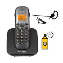 Kit Telefone sem fio TS 5120 Com Fone Ouvido HC 10 Intelbras -