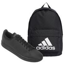 Kit Tênis Adidas Advantage Base Masculino + Mochila Adidas Classic -