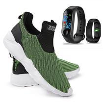 Kit Tênis de Caminhada 3D Confortável +  Relógio Inteligente M4 - Simon Vergan