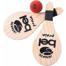 Kit Tênis de Praia Frescobol Infantil Bel Sports 481600 -
