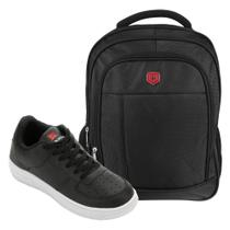 Kit Tênis Force Saxxon Masculino + Mochila Seanite Basic II -