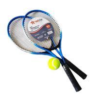 Kit Tennis Infantil Red Star 2 Raquetes + 1 Bola + Bolsa -