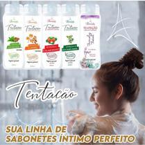 Kit tentação extrato natural sabonete íntimo 5 unidades - Françale Cosmetic