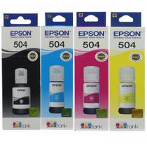 Kit Tinta Epson 504 P/ L4150 L4160 L6161 L6171 L6191 -