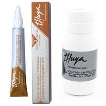 Kit Tintura Thuya para Sobrancelhas Castanho Claro + Oxidante 60 ml -