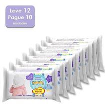 Kit Toalhas Umedecidas IsaBaby Leve 100 Pague 90 Leve 12 embalagens e Pague 10 - 1.200 Toalhas -