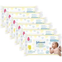 Kit Toalhas Umedecidas Johnsons Baby Recém-Nascido 6 pacotes com 96 unidades cada - Johnson's Baby