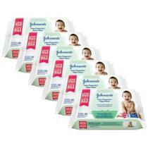 Kit Toalhas Umedecidas Johnsons Baby Toque Fresquinho 6 pacotes com 96 unidades cada - Johnson'S Baby