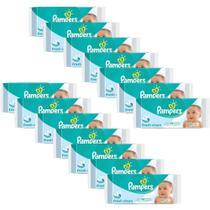 Kit Toalhinhas Umedecidas Pampers Fresh Clean com 672 unidades -