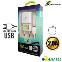 Kit tomada + cabo ip xcell 2.0a xc-kit-iphone -