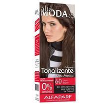 Kit Tonalizante Alfaparf Alta Moda Louro Escuro 60 -
